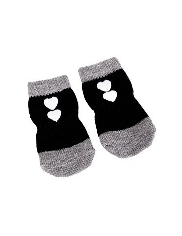 Black Pet Socks