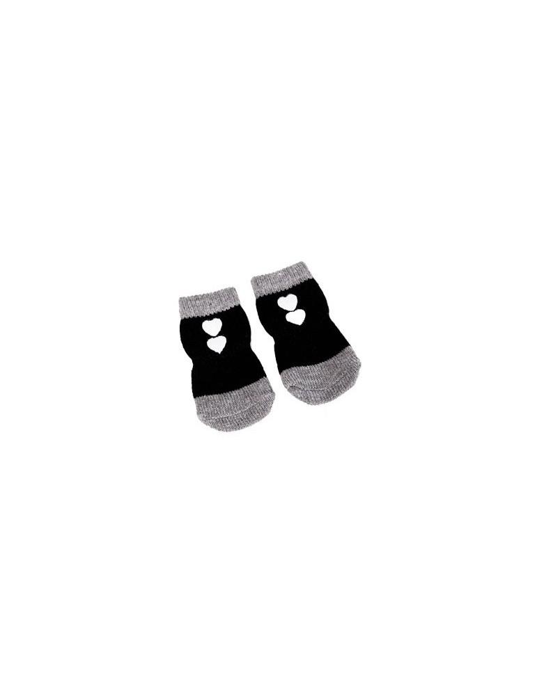 Black Pet Socks