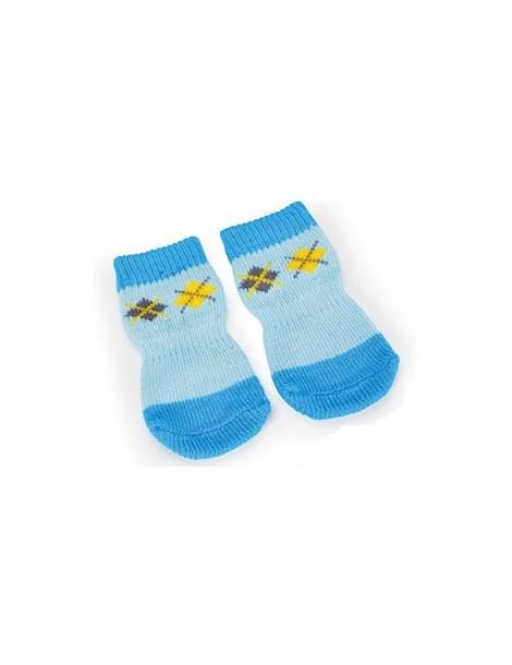 Blue Pet Socks