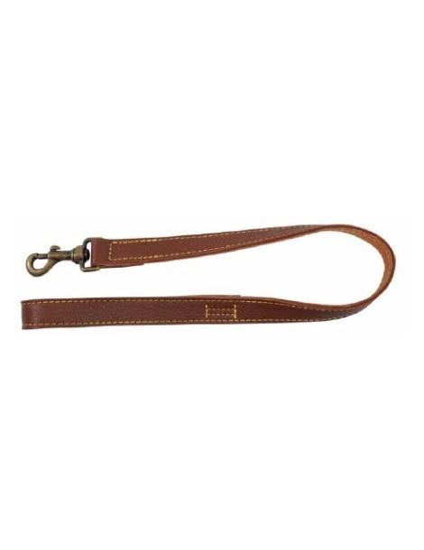 """Alcer"" brown leash"