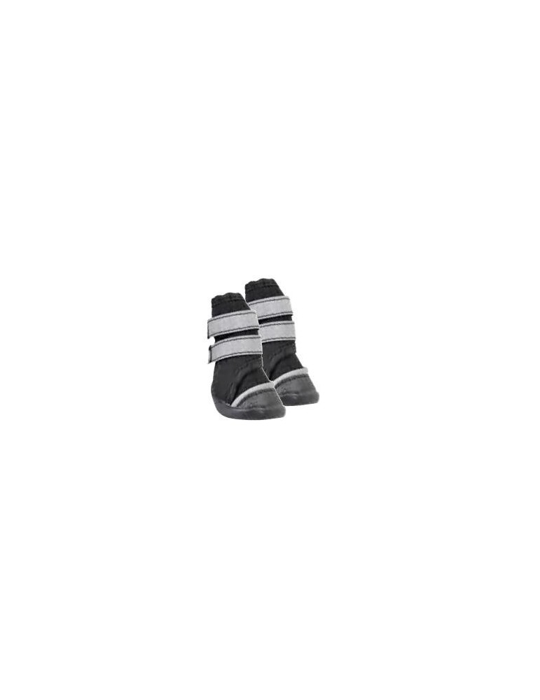 Black Dog Shoes with Double Velcro
