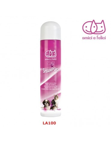 Spray dry shampoo