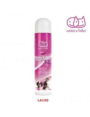 Spray talc deodorizer