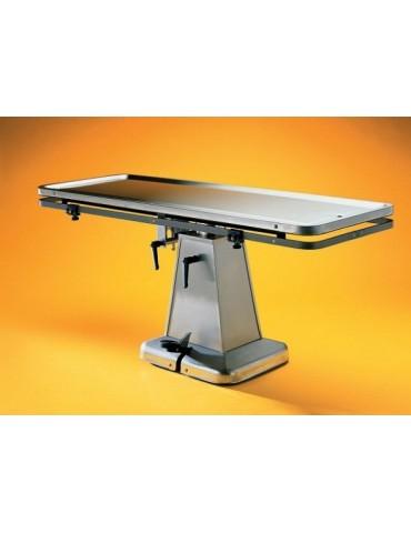 Θερμαινόμενο Χειρουργικό τραπέζι Flat-Top με ηλεκτρική βάση