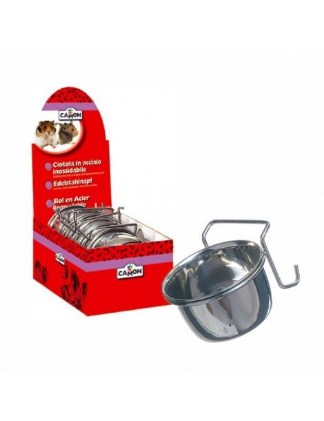 Μεταλλικό Πιατάκι για Τρωκτικά & Κουνέλια