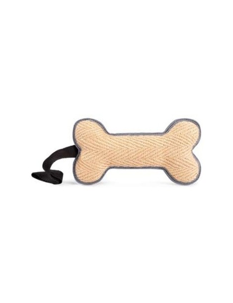 Jute Training Dog Bone Toy