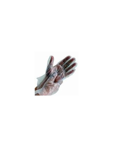 Grained Clear Gloves