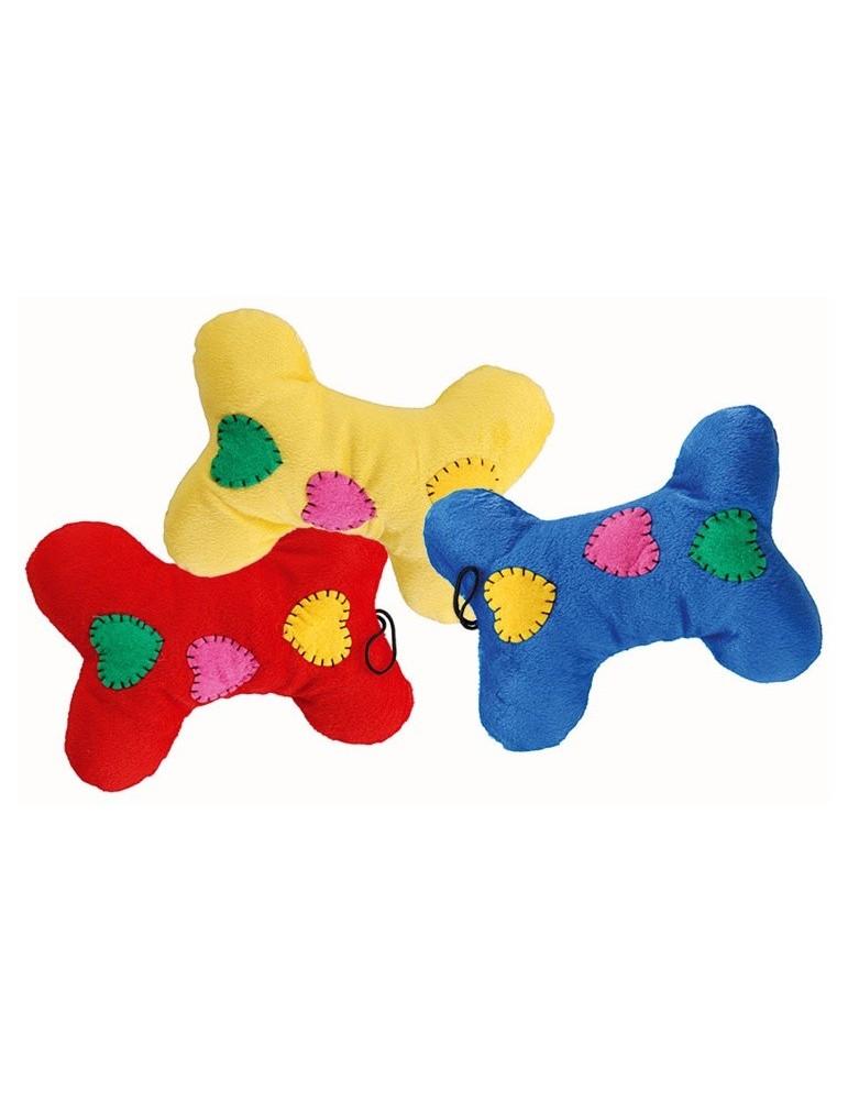 """""""Soft Slipper"""" Bone Dog Toy"""