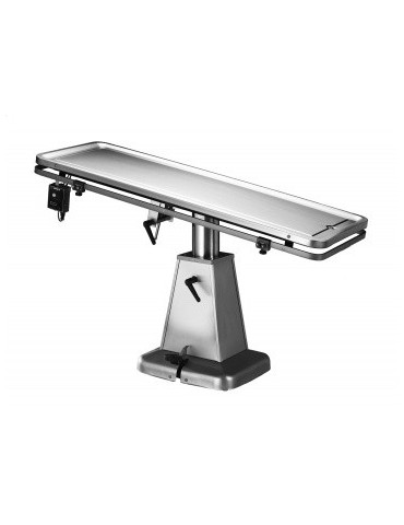 Heated  Flat-Top Surgery Table with Hydraulic Lift Base