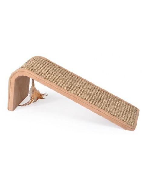 Slanted scratching board