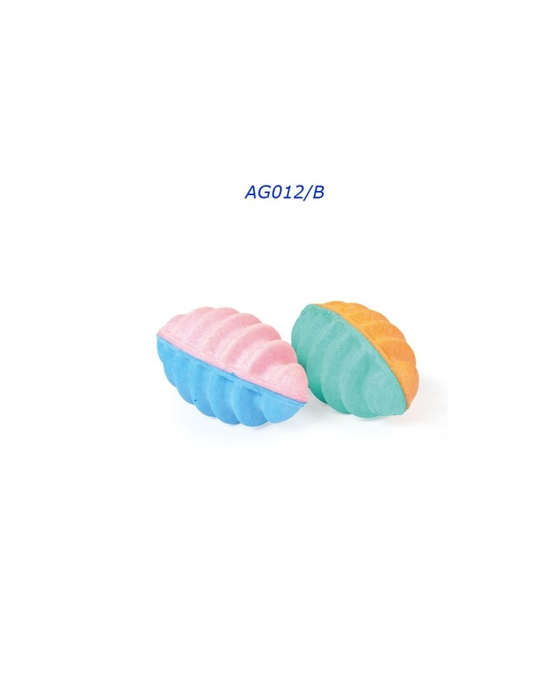 Παιχνίδι μπάλα απο σφουγγάρι 6cm