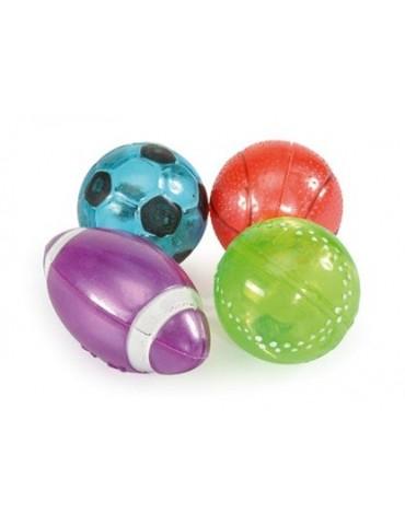 Παιχνίδι μπάλα με κουδουνάκι 4cm