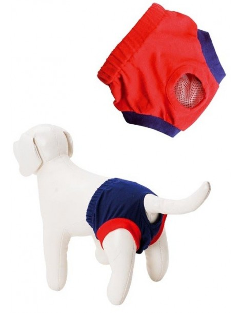 Blue Diaper Cover Pants