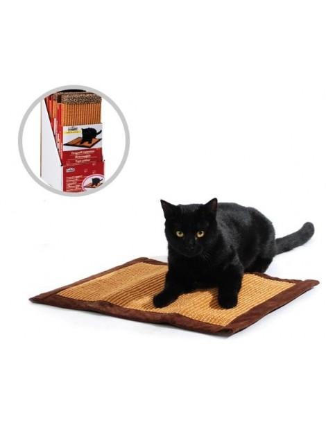 Sisal scratching carpet