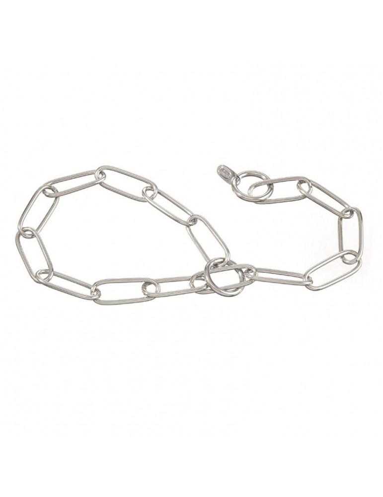 Chromium plated choke collar 2.5mm