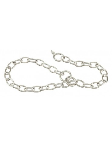 Faceted choke collar