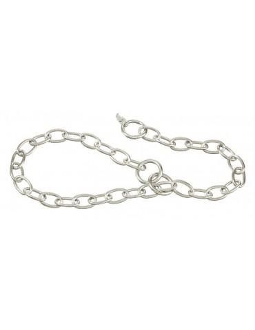 Chromium plated choke collar 3mm