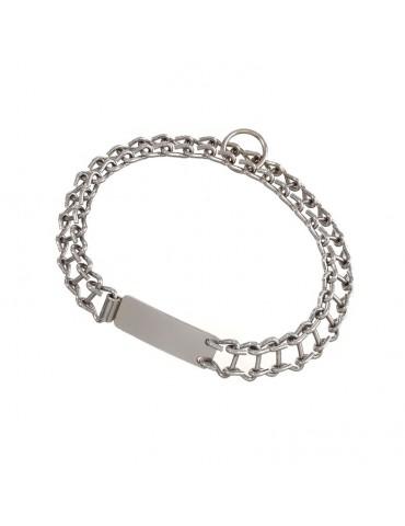 Chromium-plated collar