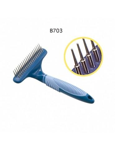 39 Rotating teeth rake