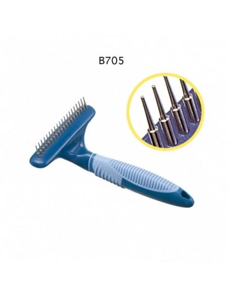 20 Rotating short teeth rake