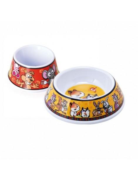 Melamine Bowl with Animals