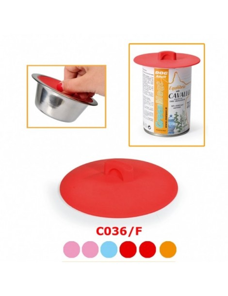 Silicone airtight suction lid