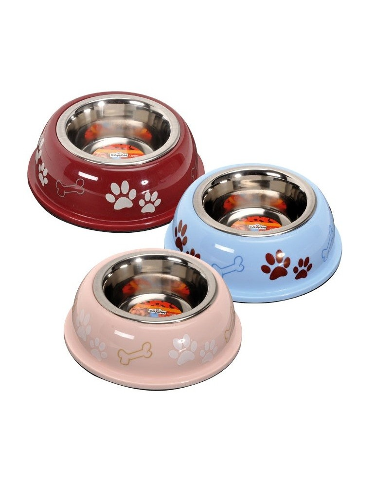Stainless Steel Bowl with Plastic Base