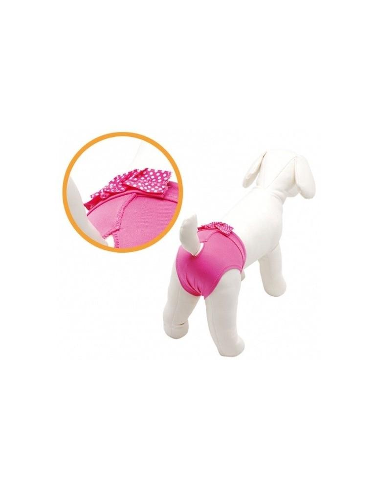 Pink cotton dog pants
