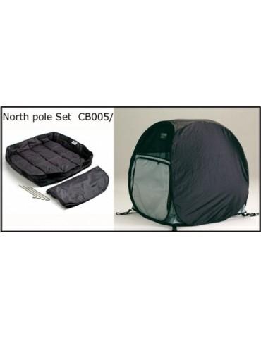 North Pole Set for Dog Bag