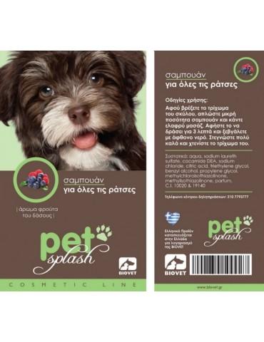 Pet Splash Shampoo for all Breeds
