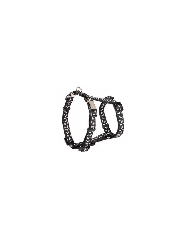 Adjustable Harness with Metal Buckle