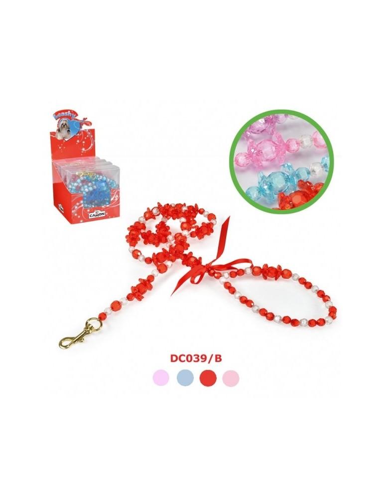 Μοντέρνο λουρί με μαργαριτάρια & λουλουδάκια