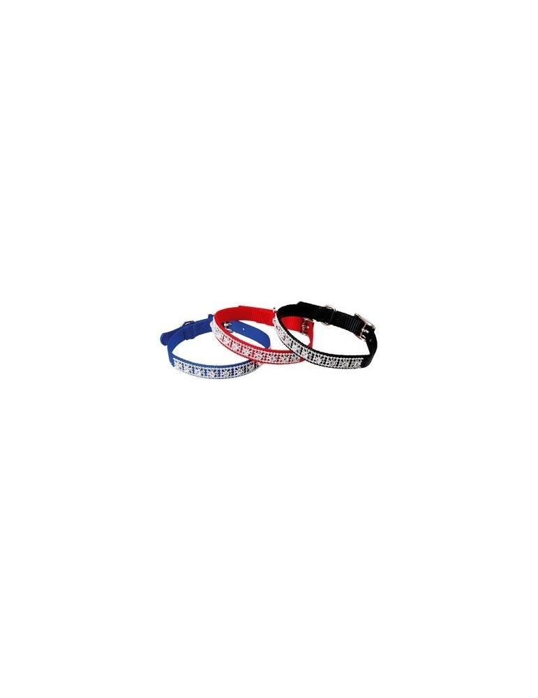Nylon Collar with Strass 300 mm