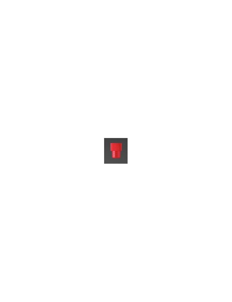 Κόκκινο Πώμα για Δοκιμαστικούς Σωλήνες (16mm)