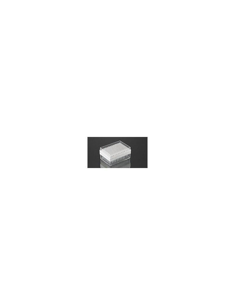 Crystal-type pipette in racks