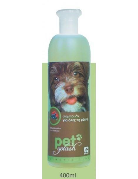 Σαμπουάν Pet Splash για Όλες τις Ράτσες