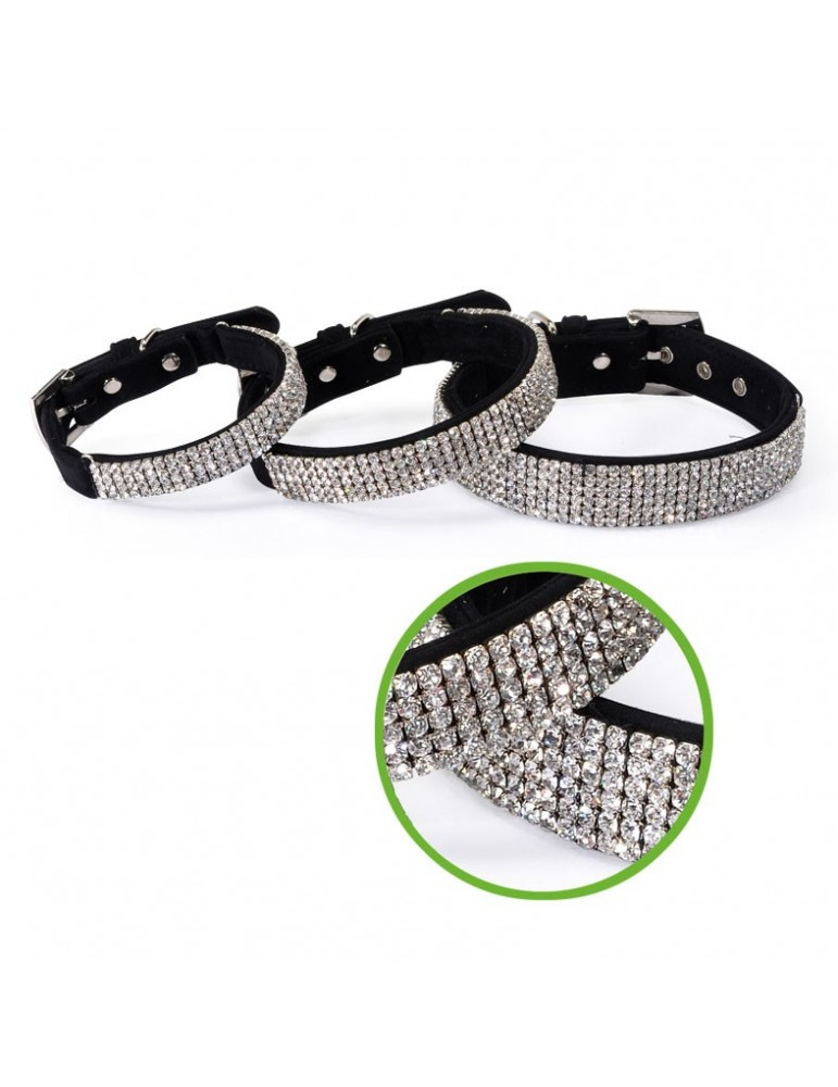 Collar with Strass