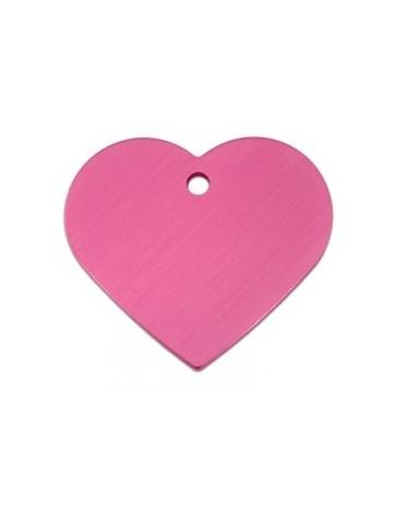 Ταυτότητα καρδιά μεγάλη ροζ