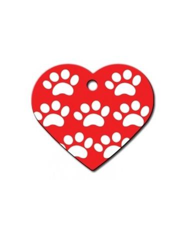 Ταυτότητα καρδιά μεγάλη με πατουσάκια