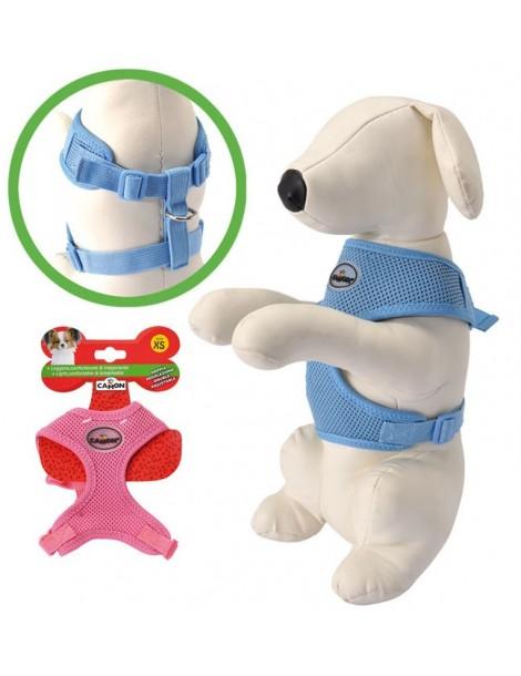 Pink Blue Dog Harness