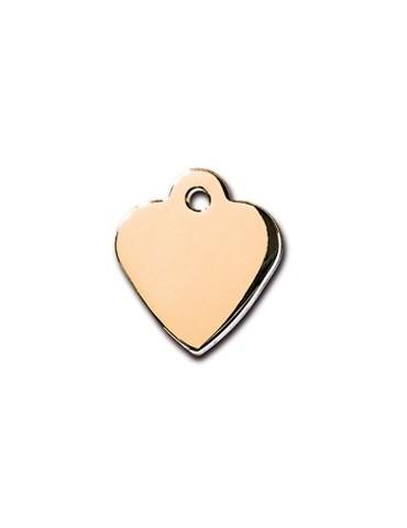 Ταυτότητα καρδιά χρυσή μικρή