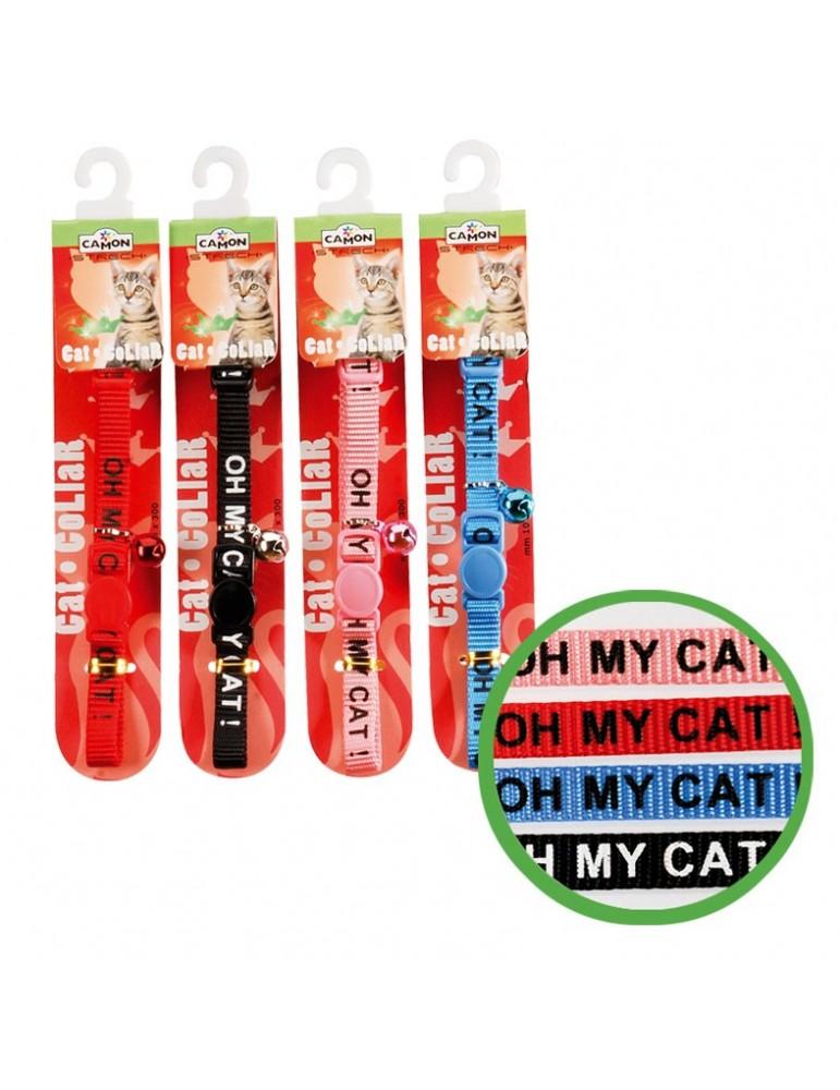 """Cat Collar """"Oh my Cat"""""""