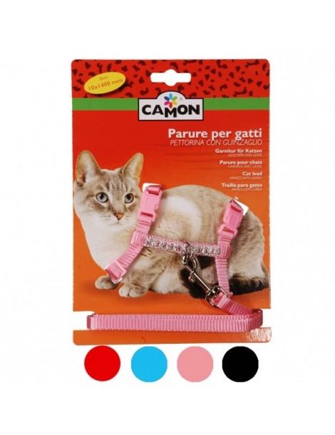 Harness-Leash Cat Set 10x1400mm