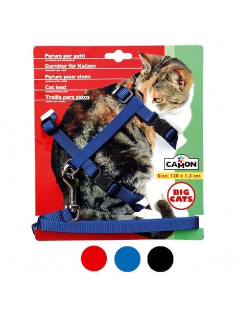 Harness-Leash Cat Set 13x1200mm