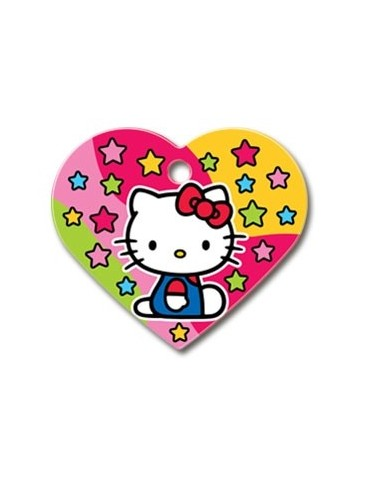 "Big Heart Tag ""Hello Kitty"""