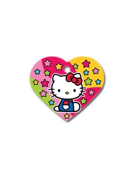 """Ταυτότητα καρδιά μεγάλη """"Hello Kitty"""""""