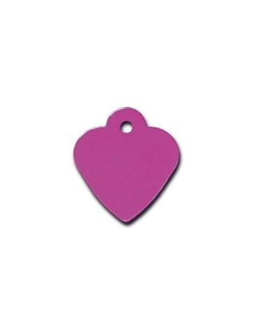 Ταυτότητα καρδιά μωβ μικρή