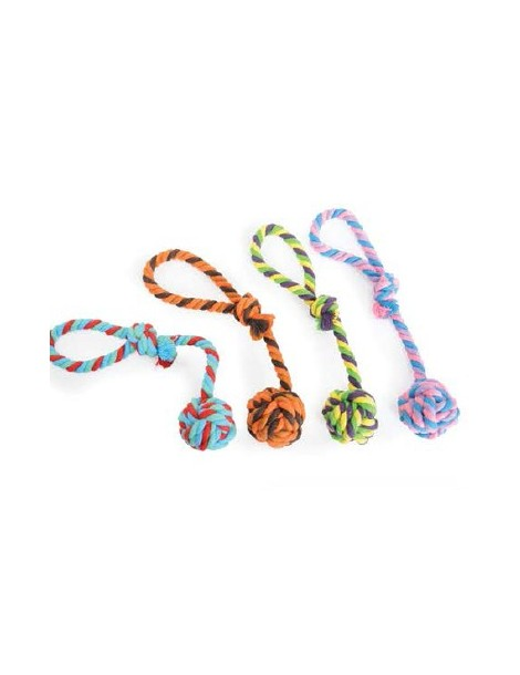 Dog Toy Ball with Handle