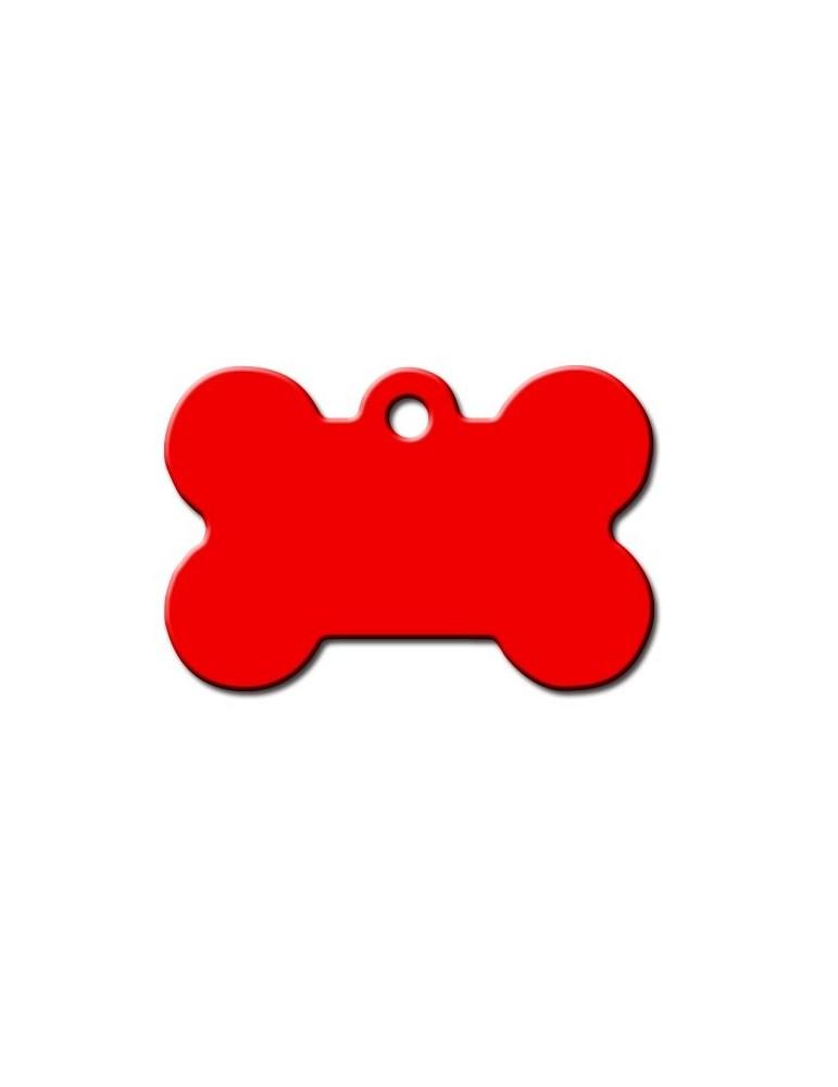 Ταυτότητα κόκκαλο κόκκινο μεγάλο