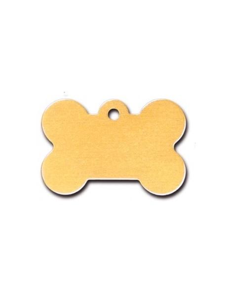 Mustard Bone ID Tag